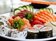Newton's Japanese Steak House Sushi Combo
