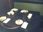 Newton's Japanese Steak House Table